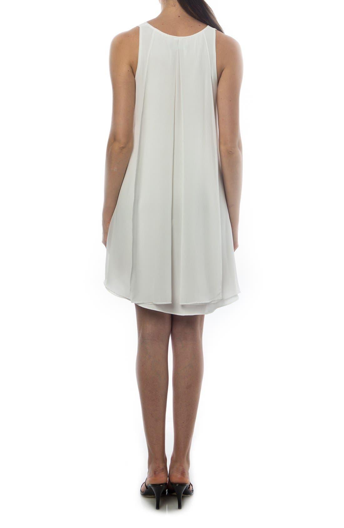 Alternate Image 2  - PIETRO BRUNELLI 'Lago Di Como' High/Low Maternity Dress