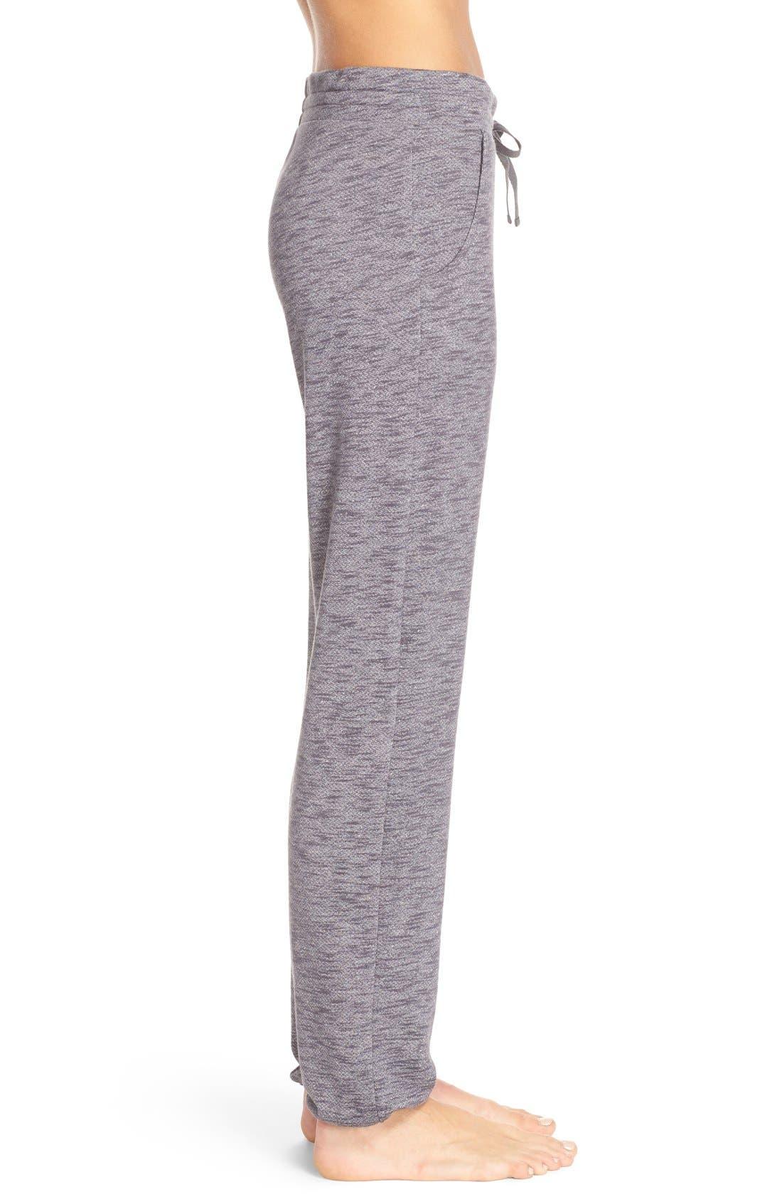 Alternate Image 3  - Nordstrom Lingerie Jogger Sweatpants