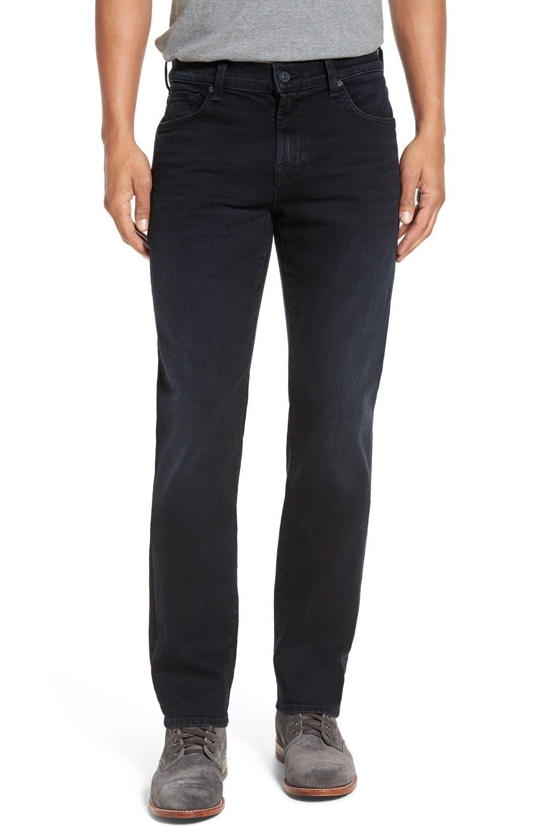 'Slimmy - Luxe Performance' Slim Fit Jeans,                             Main thumbnail 1, color,                             Stockholme
