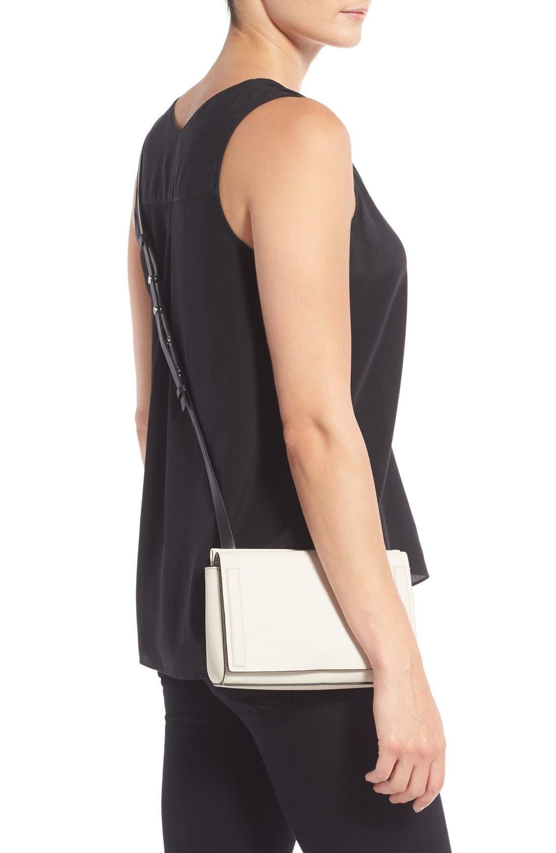 Alternate Image 2  - rag & bone 'Mini Aston' Leather Crossbody Bag