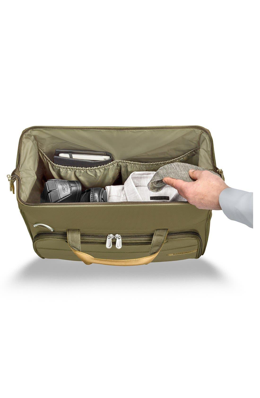 'Baseline' Duffel Bag,                             Alternate thumbnail 3, color,                             Olive Green