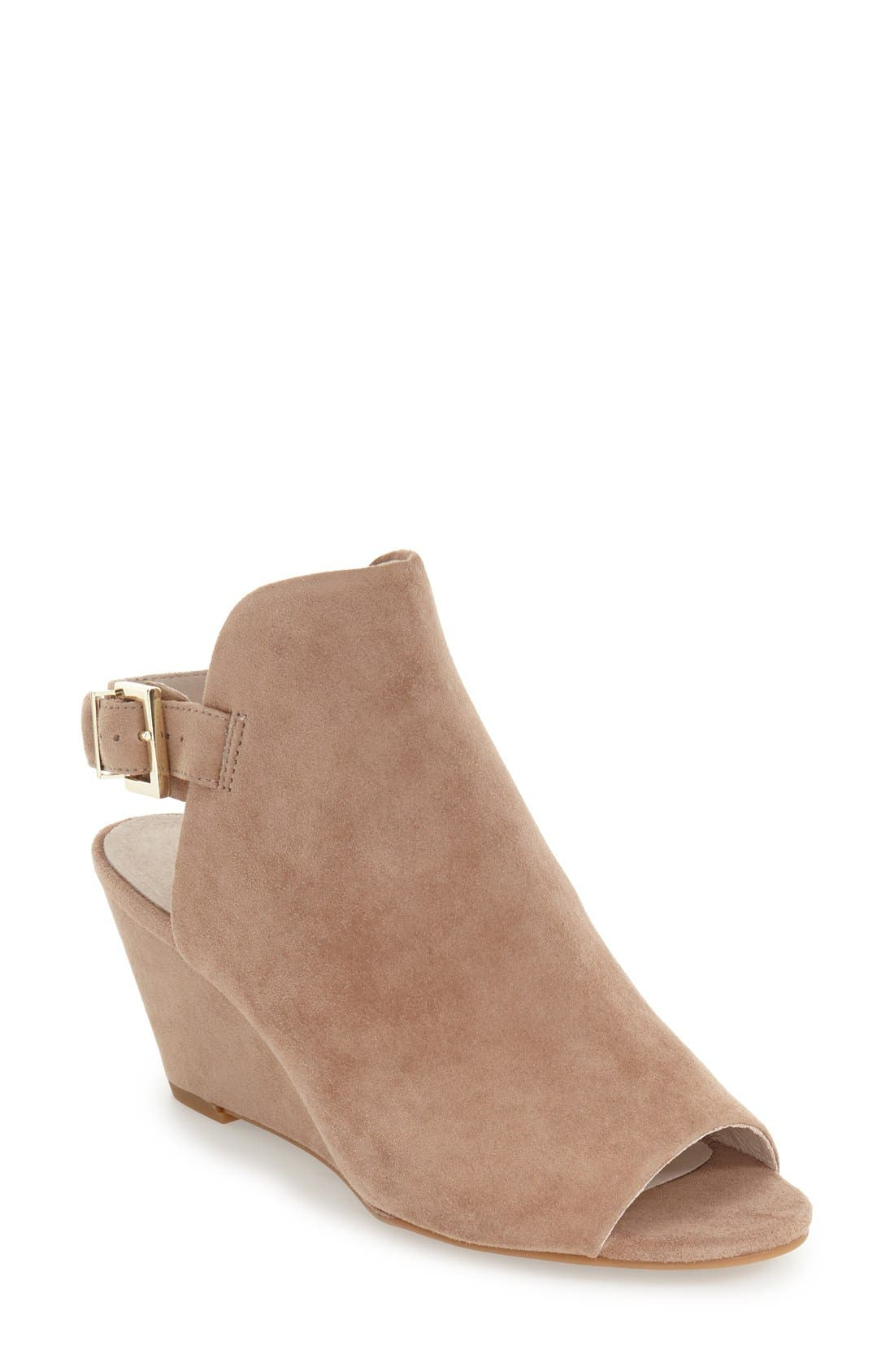 Alternate Image 1 Selected - Kenneth Cole New York 'Dana' Wedge Sandal (Women)