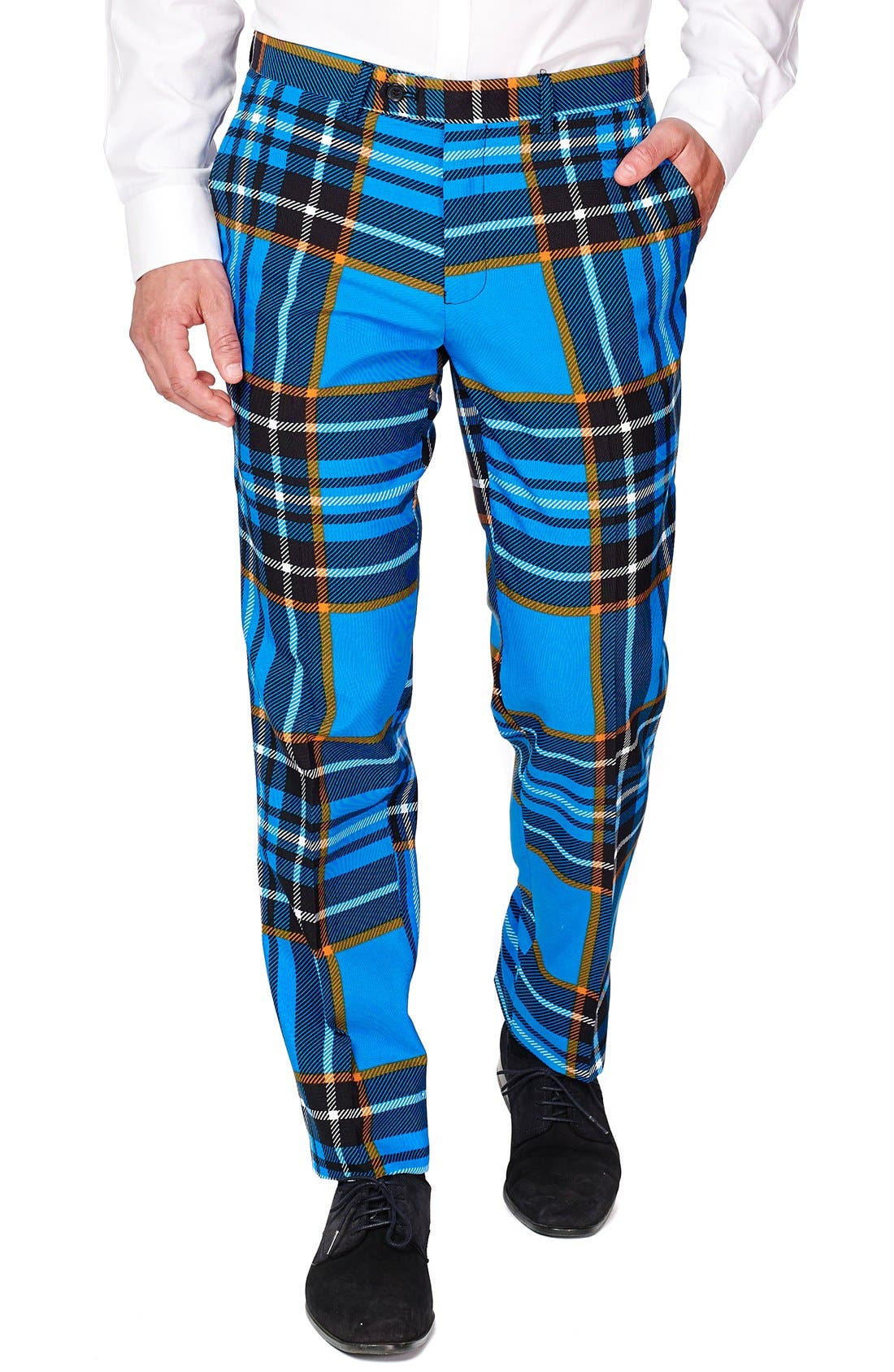 Alternate Image 3  - OppoSuits 'Braveheart' Trim Fit Suit with Tie