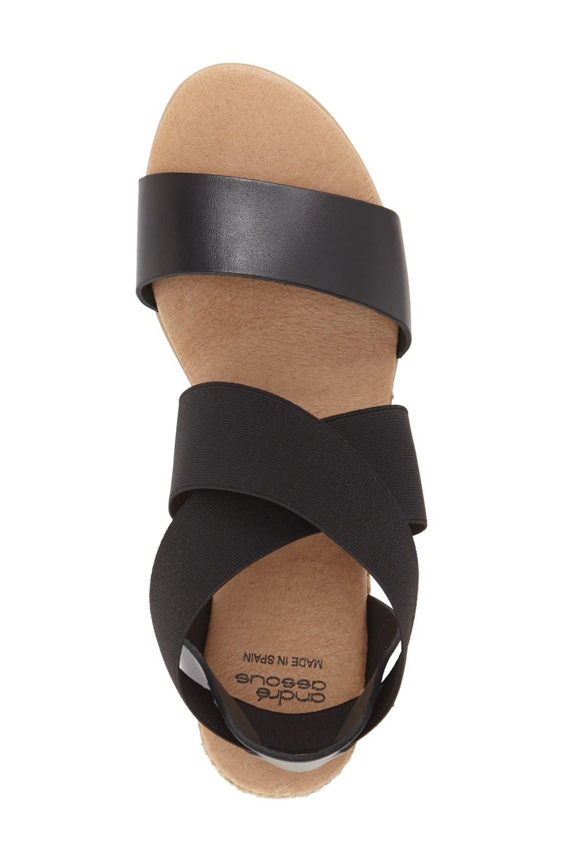 Alternate Image 3  - André Assous 'Malta' Wedge Espadrille Sandal (Women)