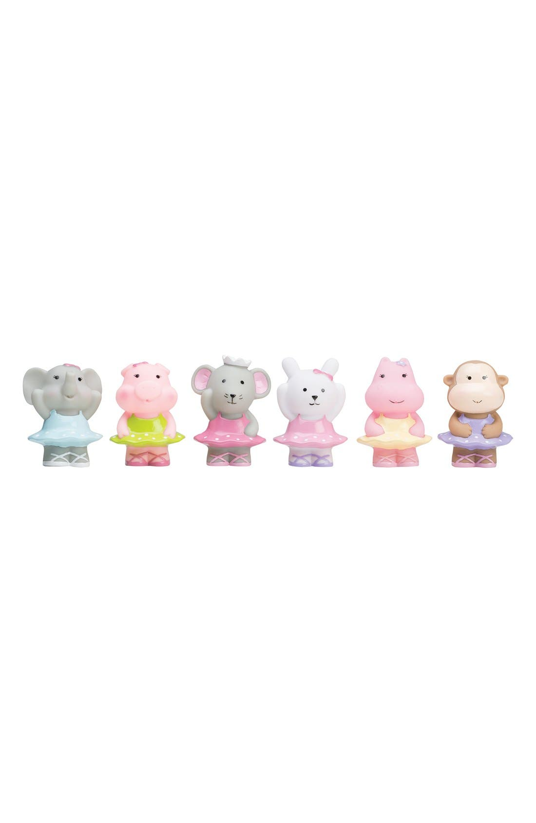 Elegant Baby 'Ballet Party' Squirtie Bath Toys (Set of 6)