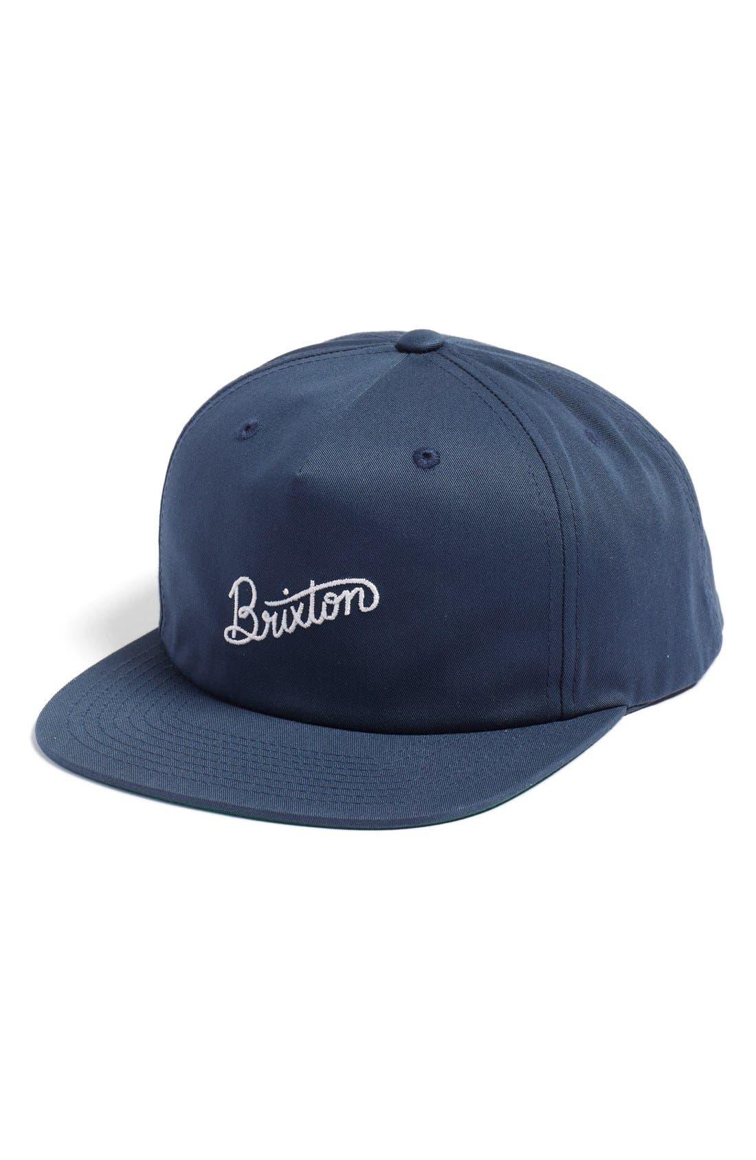 Main Image - Brixton 'Sunder' Snapback Cap