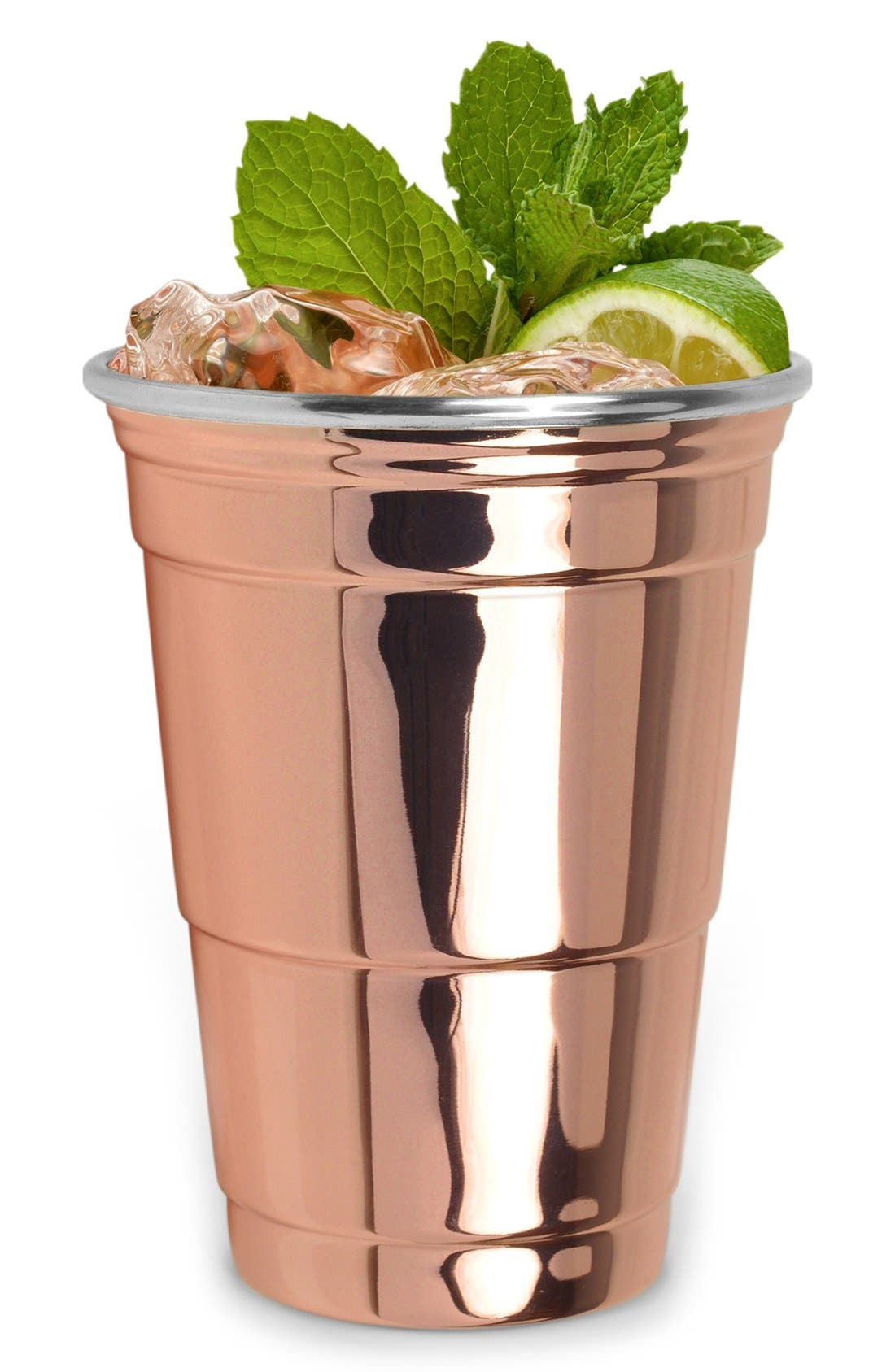Copper Party Cup,                             Alternate thumbnail 2, color,                             Metallic Rust/ Copper
