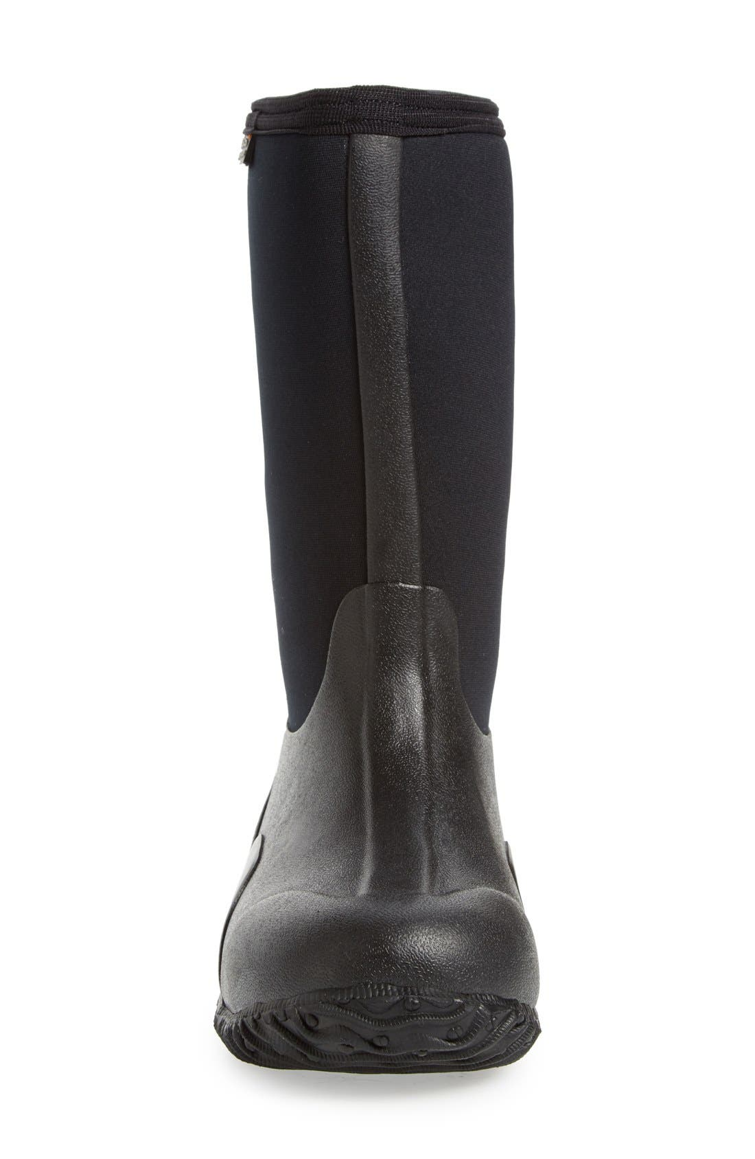 'Classic High' Waterproof Boot,                             Alternate thumbnail 3, color,                             Black
