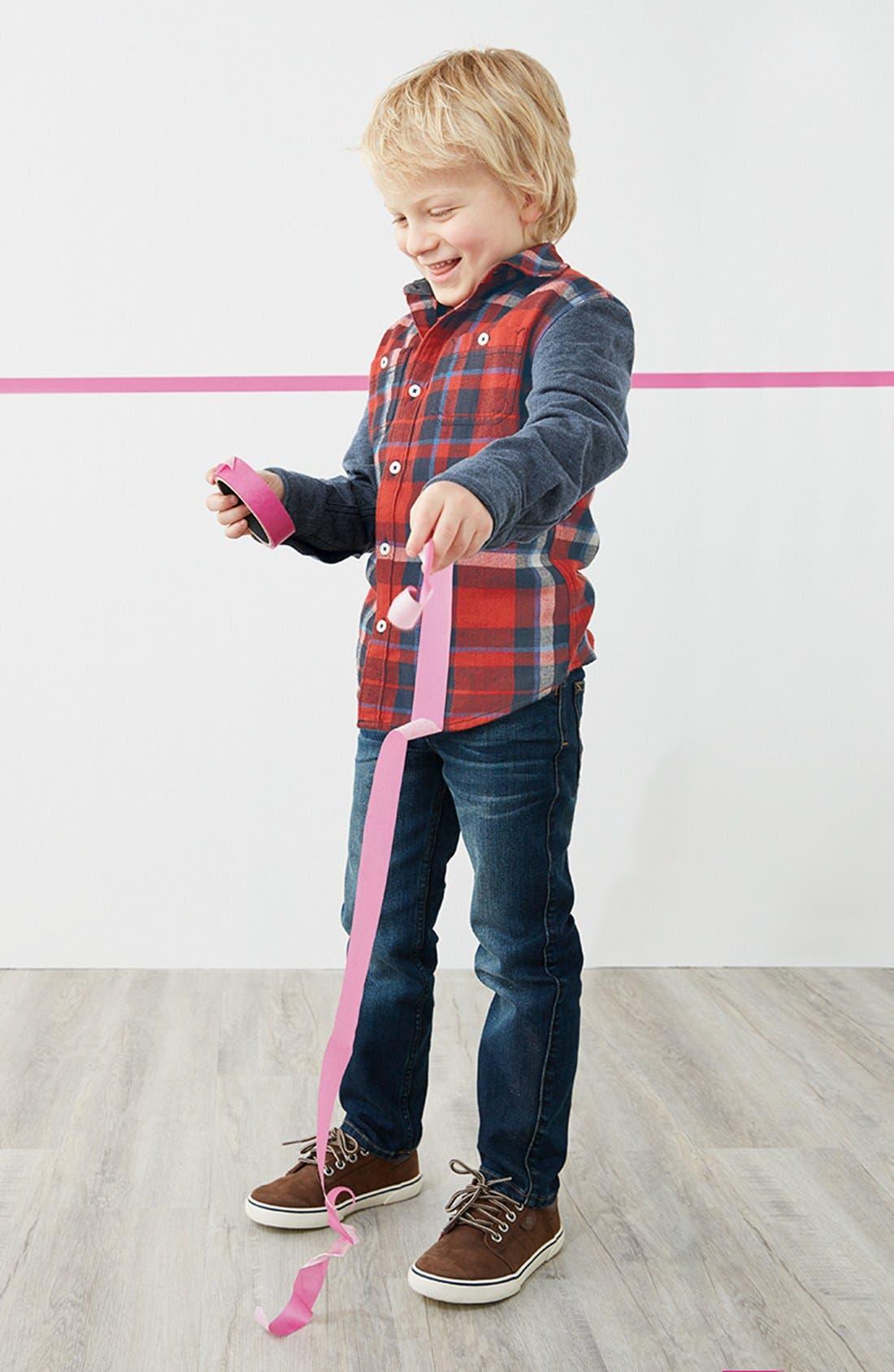Alternate Image 2  - Tucker + Tate Woven Plaid Shirt (Toddler Boys & Little Boys)