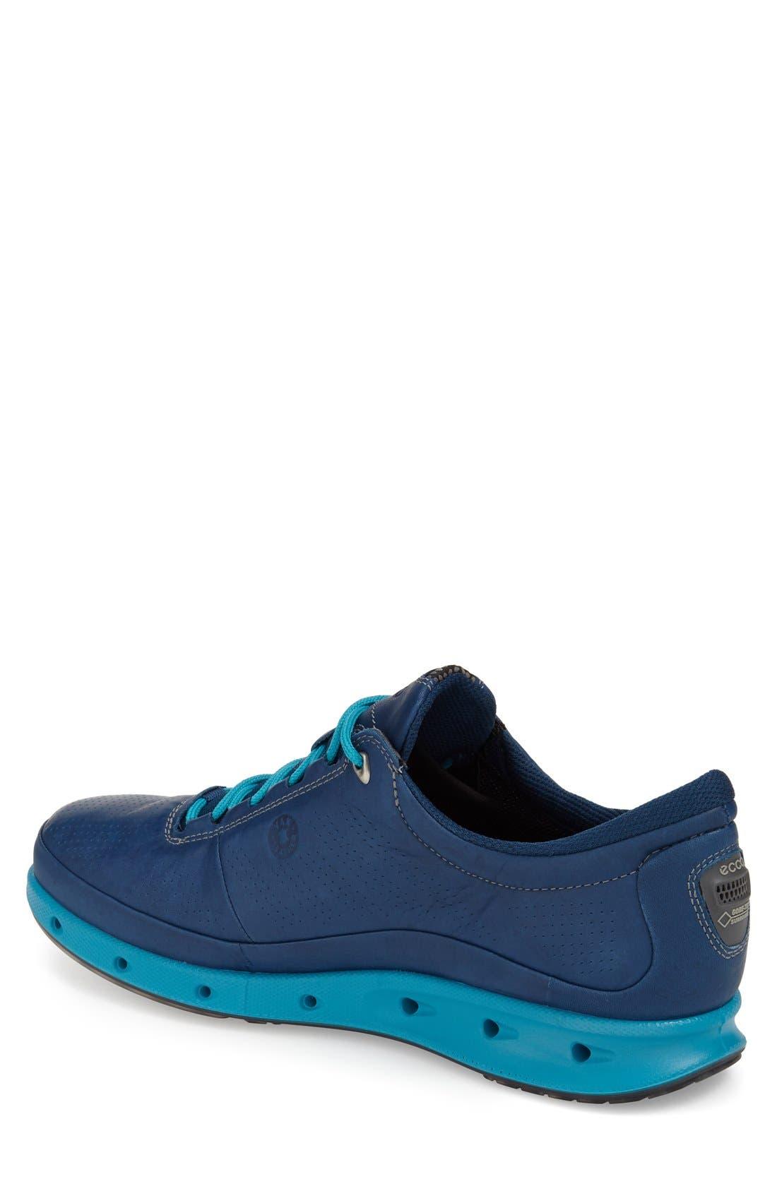 'Cool Gore-Tex<sup>®</sup>' Sneaker,                             Alternate thumbnail 2, color,                             Poseidon Blue Leather