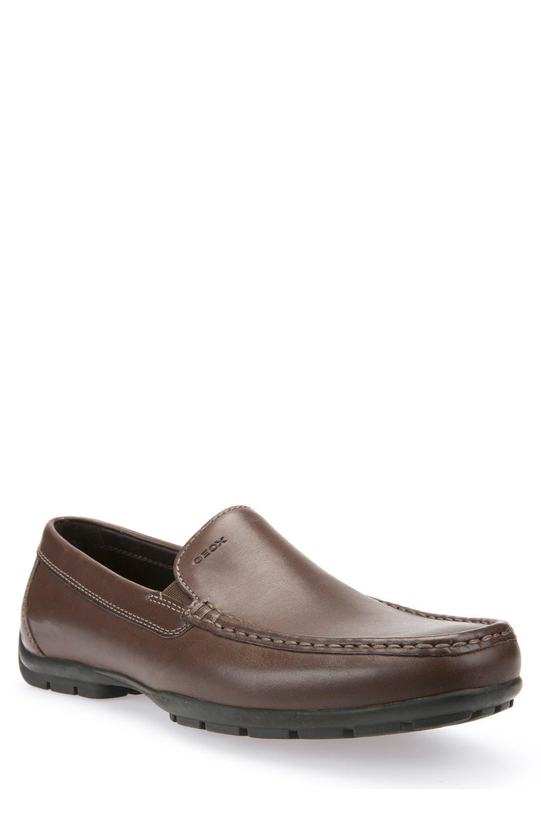Alternate Image 1 Selected - Geox 'Monet' Driving Shoe (Men)