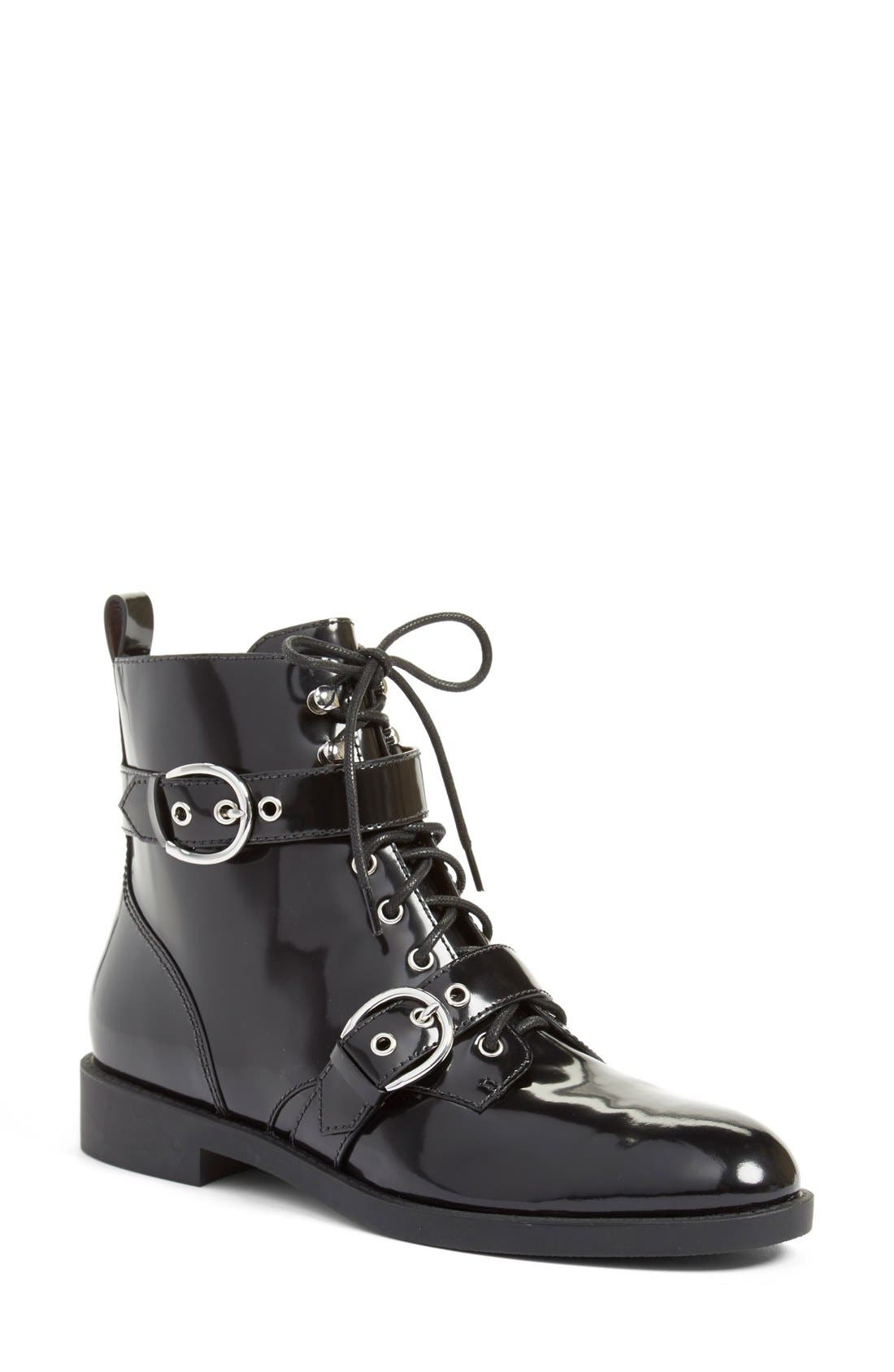 Alternate Image 1 Selected - MARC JACOBS 'Taylor' Moto Ankle Boot (Women)
