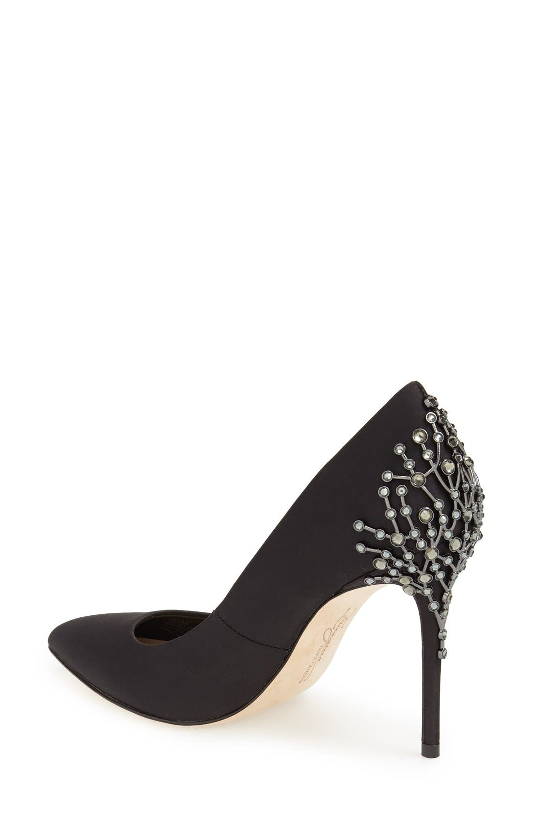 Alternate Image 2  - Imagine by Vince Camuto Crystal Embellished Pump (Women)
