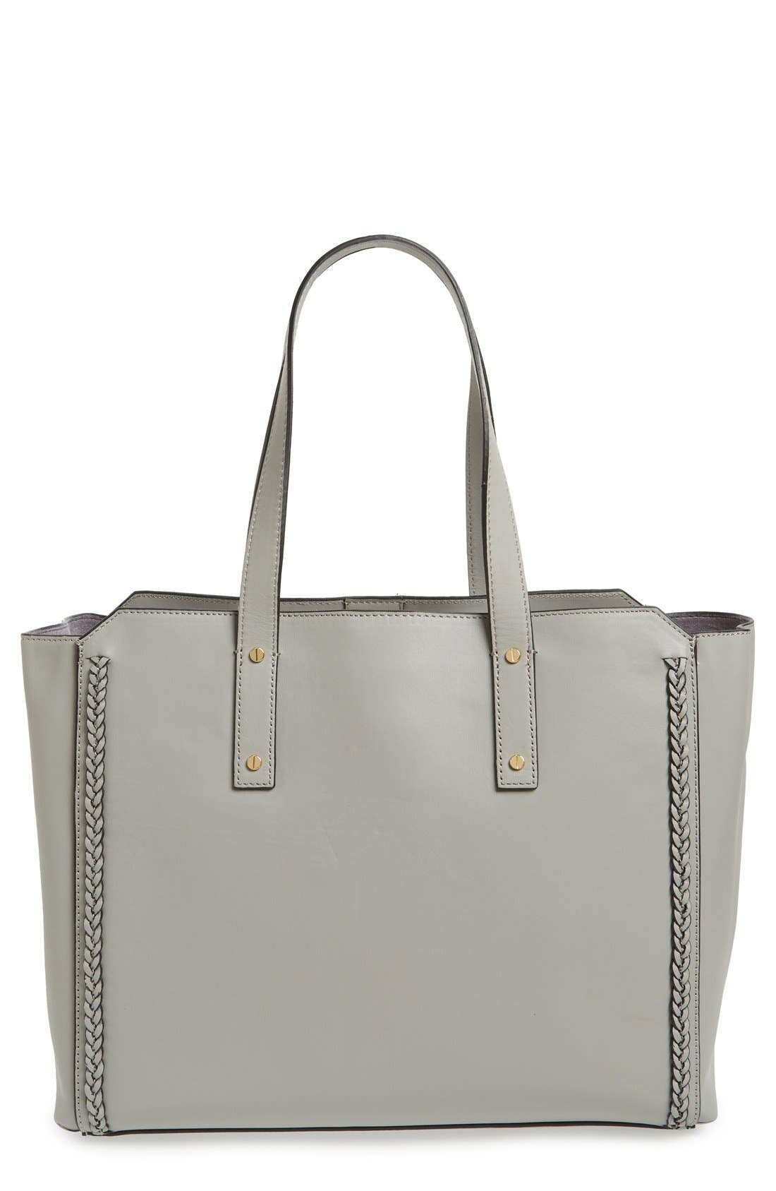 Alternate Image 1 Selected - Ivanka Trump 'Soho Solutions' Leather Work Tote with Battery Charging Pack