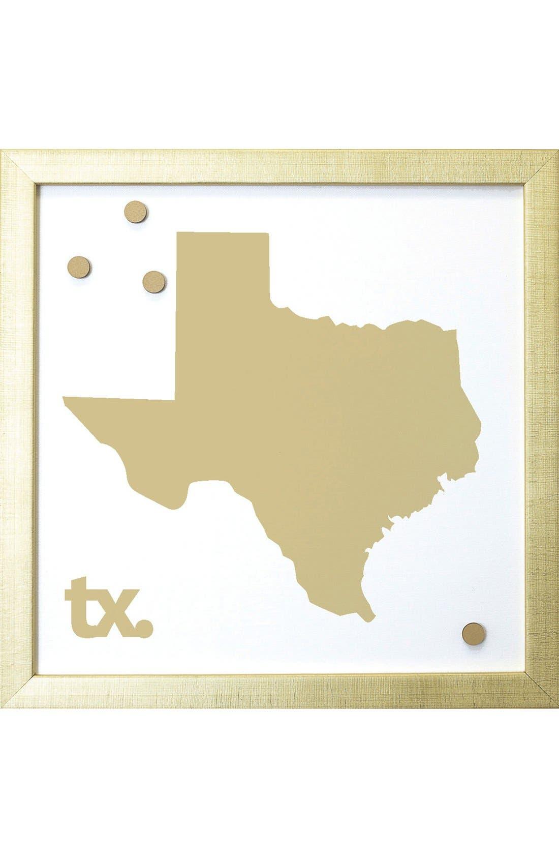 Petal Lane State Magnetic Board,                         Main,                         color, Texas