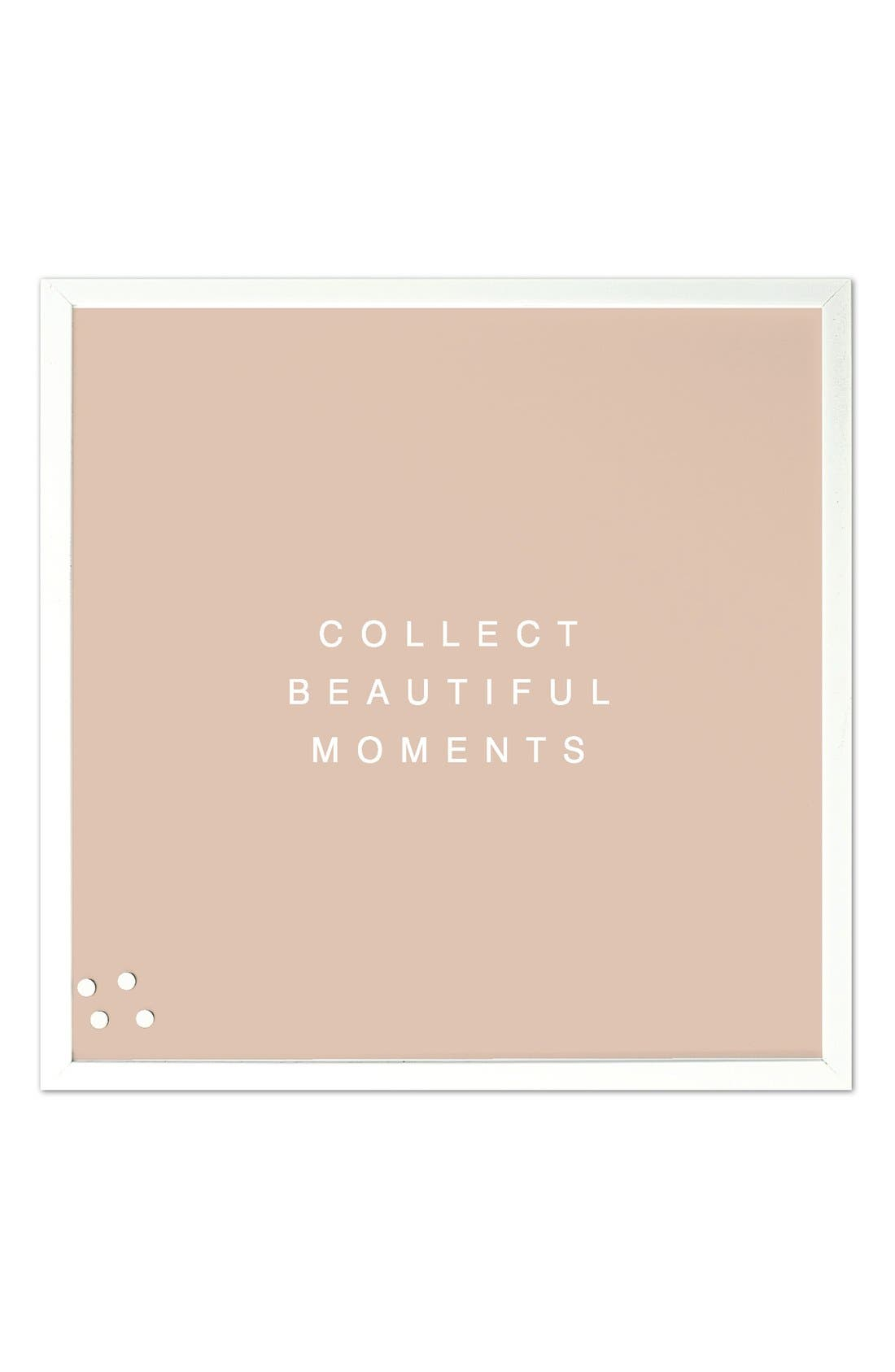 Petal Lane 'Collect Beautiful Moments' Magnet Board