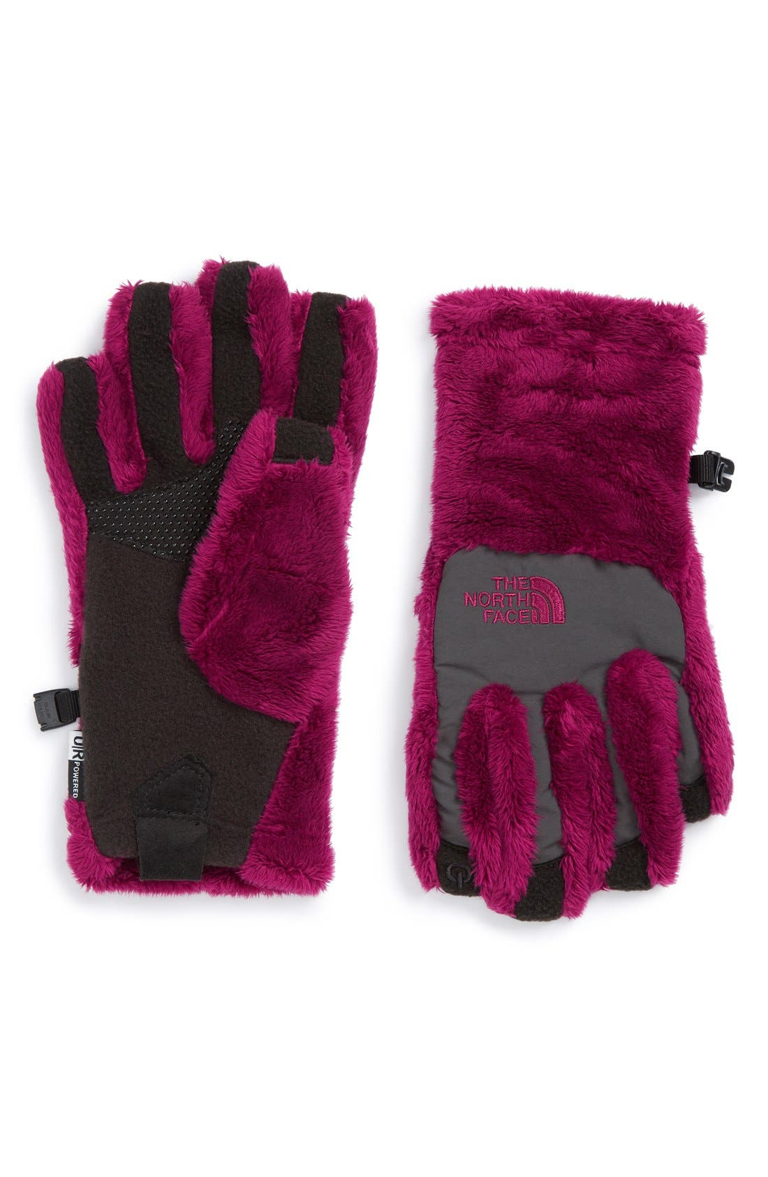 The North Face 'Denali E-Tip' Fleece Tech Gloves (Girls)