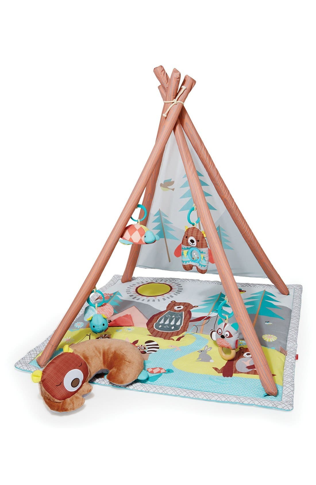 'Camping Cubs' Activity Gym,                         Main,                         color, Multi