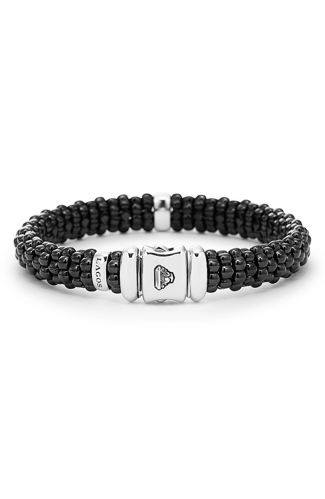 Alternate Image 2  - LAGOS Black Caviar Bracelet