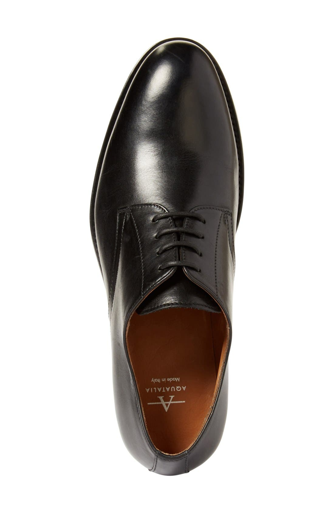 Alternate Image 3  - Aquatalia 'Vance' Plain Toe Derby (Men)