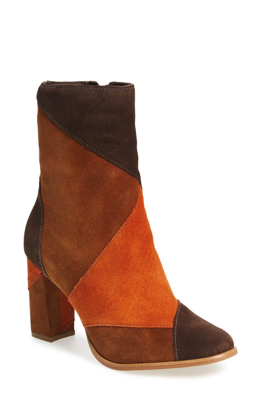 Alternate Image 1 Selected - Matisse Jigsaw Block Heel Bootie (Women)