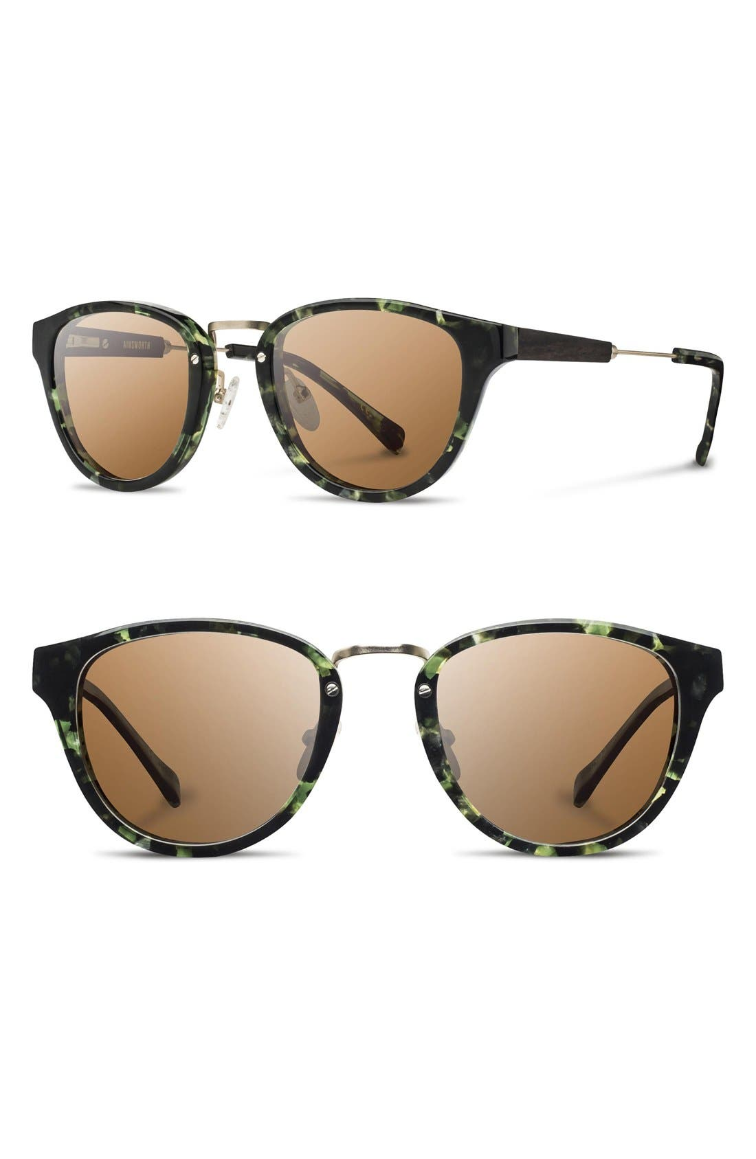 SHWOOD Ainsworth 49mm Polarized Sunglasses