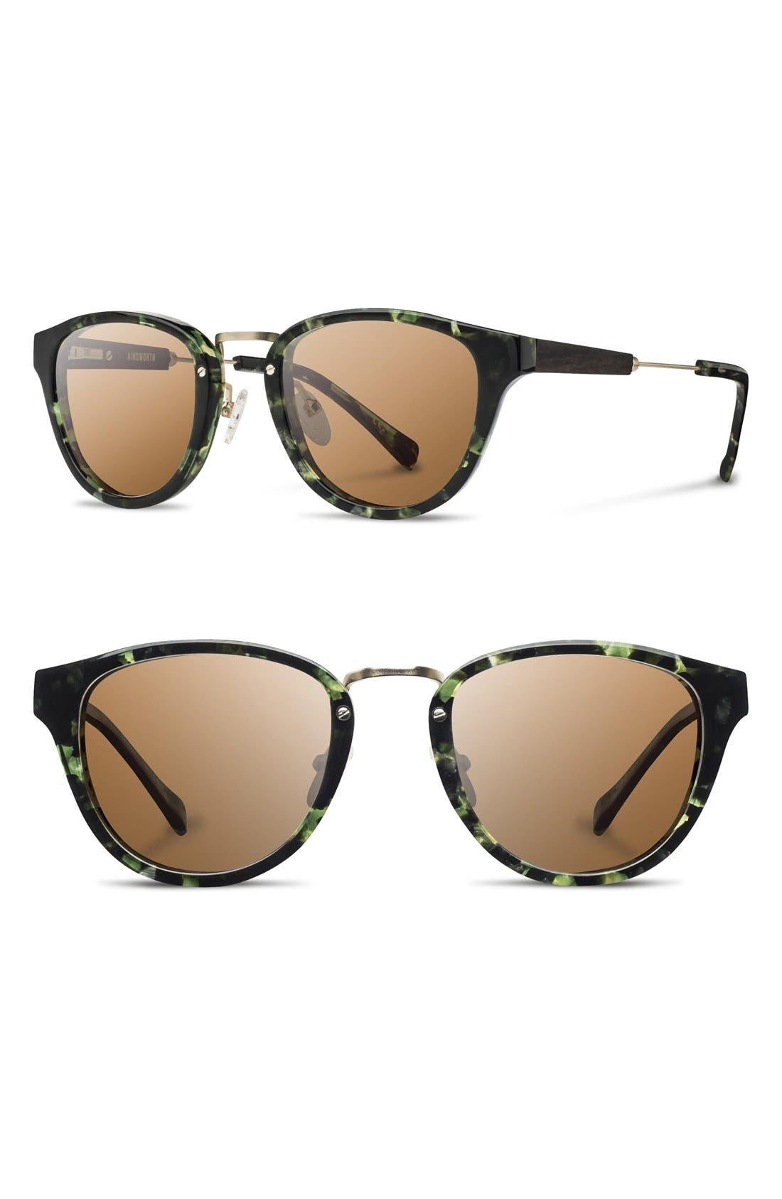 Alternate Image 1 Selected - Shwood 'Ainsworth' 49mm Polarized Sunglasses