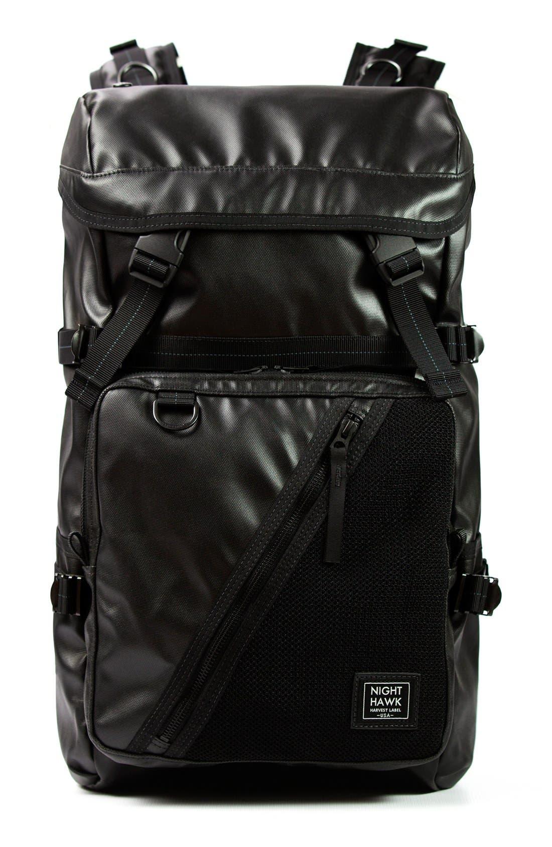'NightHawk' Backpack,                         Main,                         color, Black