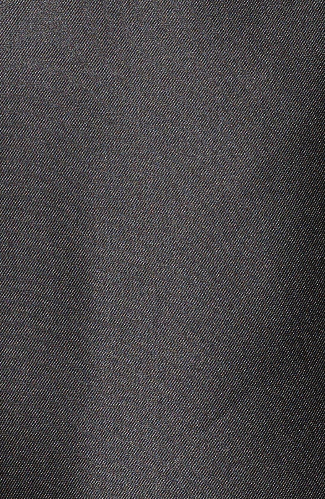 Alternate Image 5  - Adrianna Papell Arcadia Sleeveless High/Low Mikado Ballgown (Plus Size)