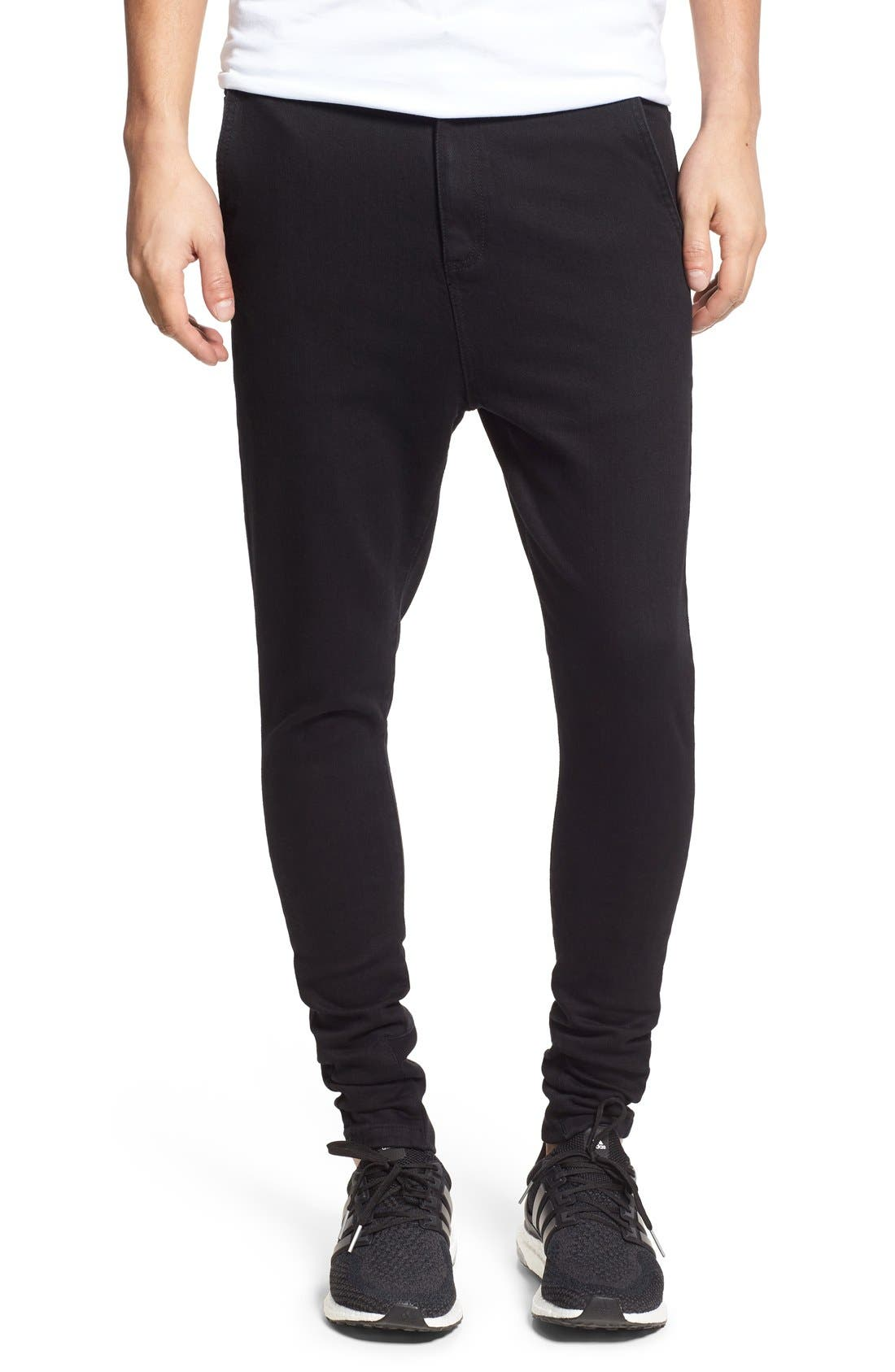 ZANEROBE Sharpshot Slouchy Skinny Fit Denim Pants