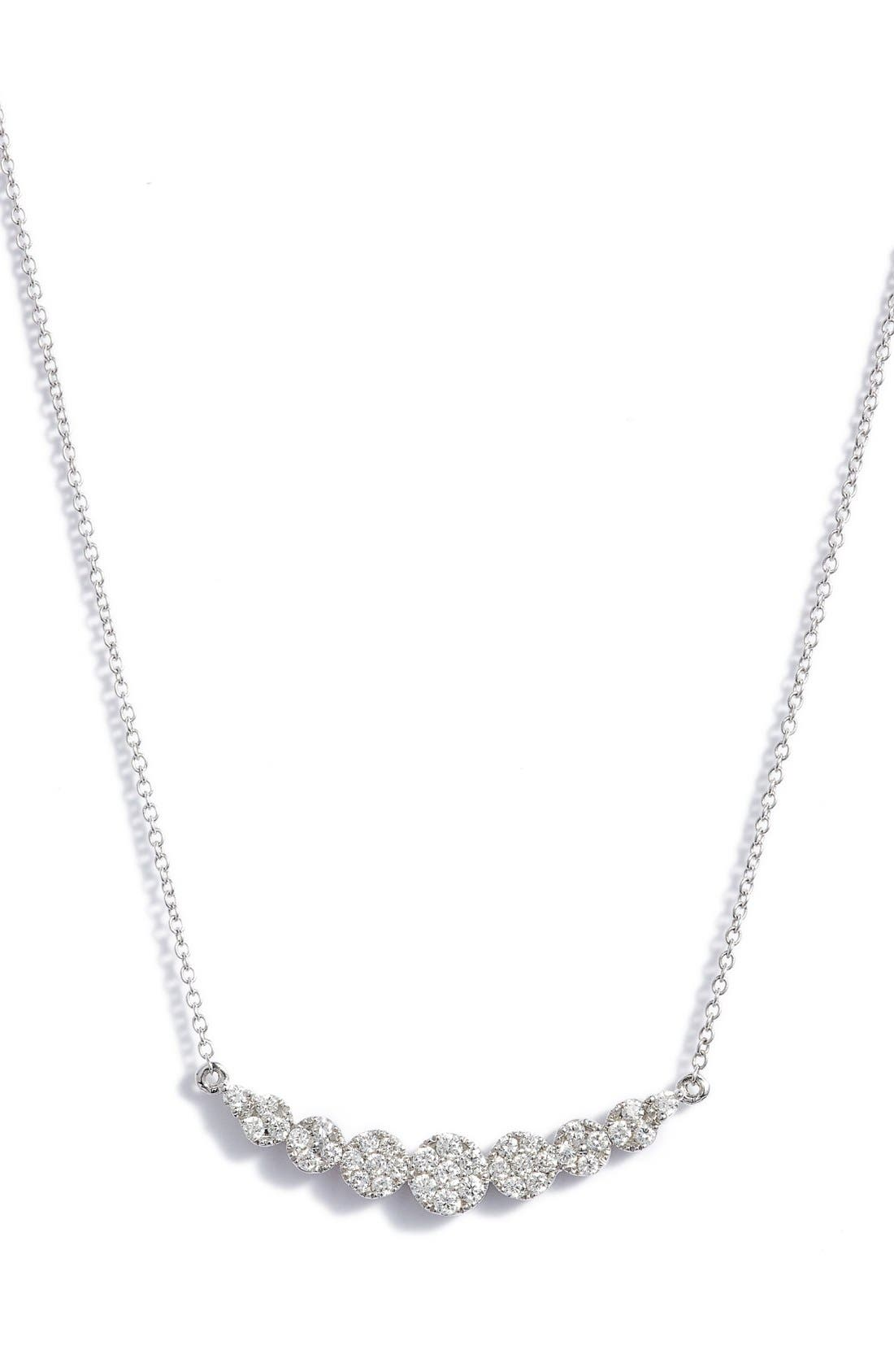 BONY LEVY Liora Diamond Pendant Necklace