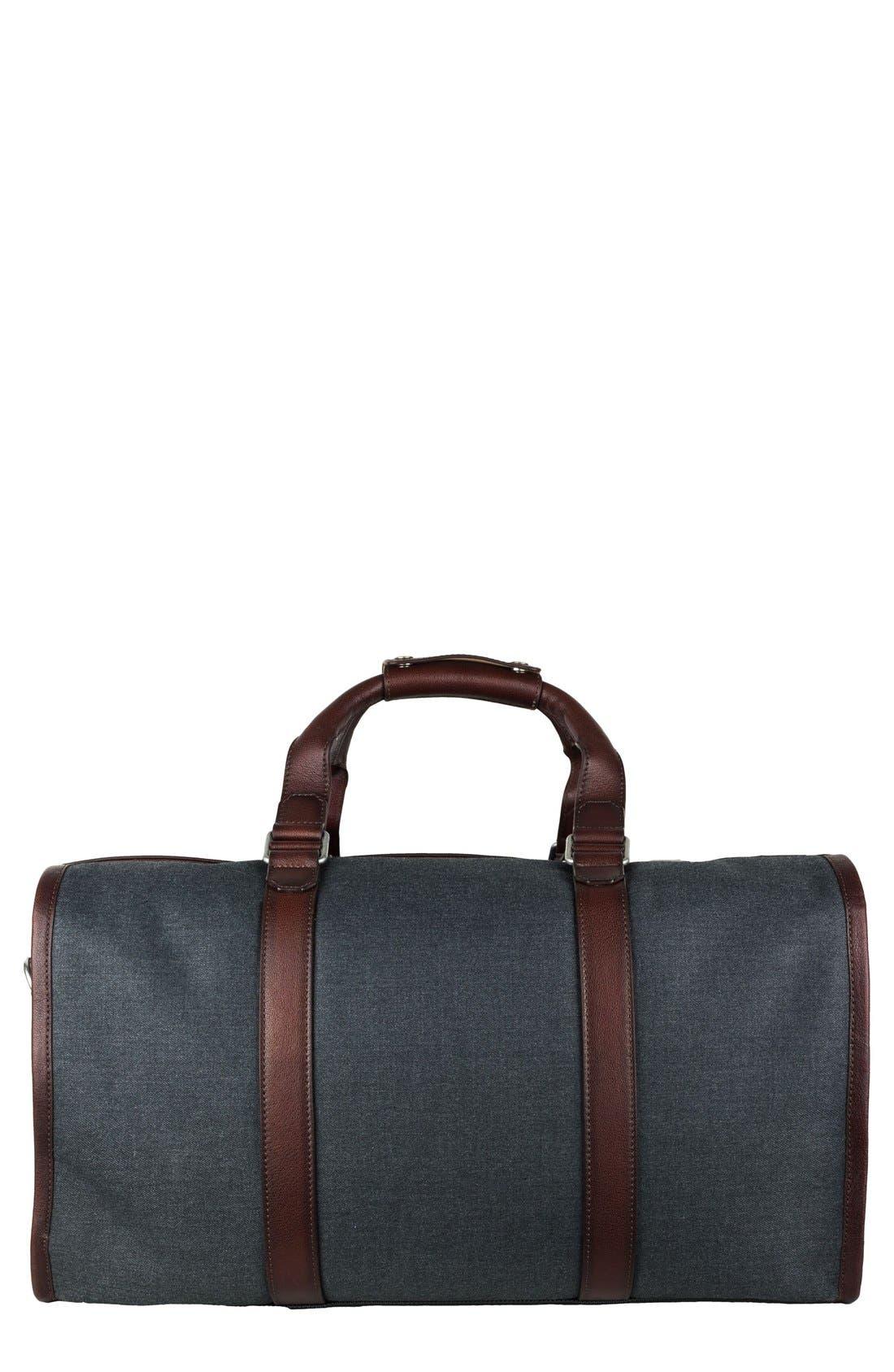 'Grafton' Duffel Bag,                             Main thumbnail 1, color,                             Grey