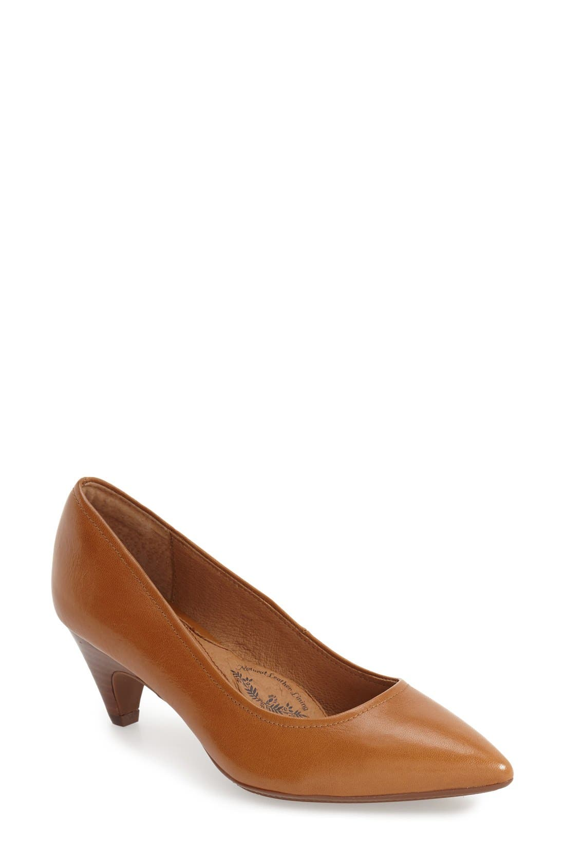 Women's Brown Kitten Heel Pumps | Nordstrom