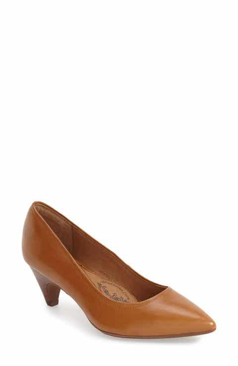 Women's Brown Kitten Heel Pumps | Nordstrom
