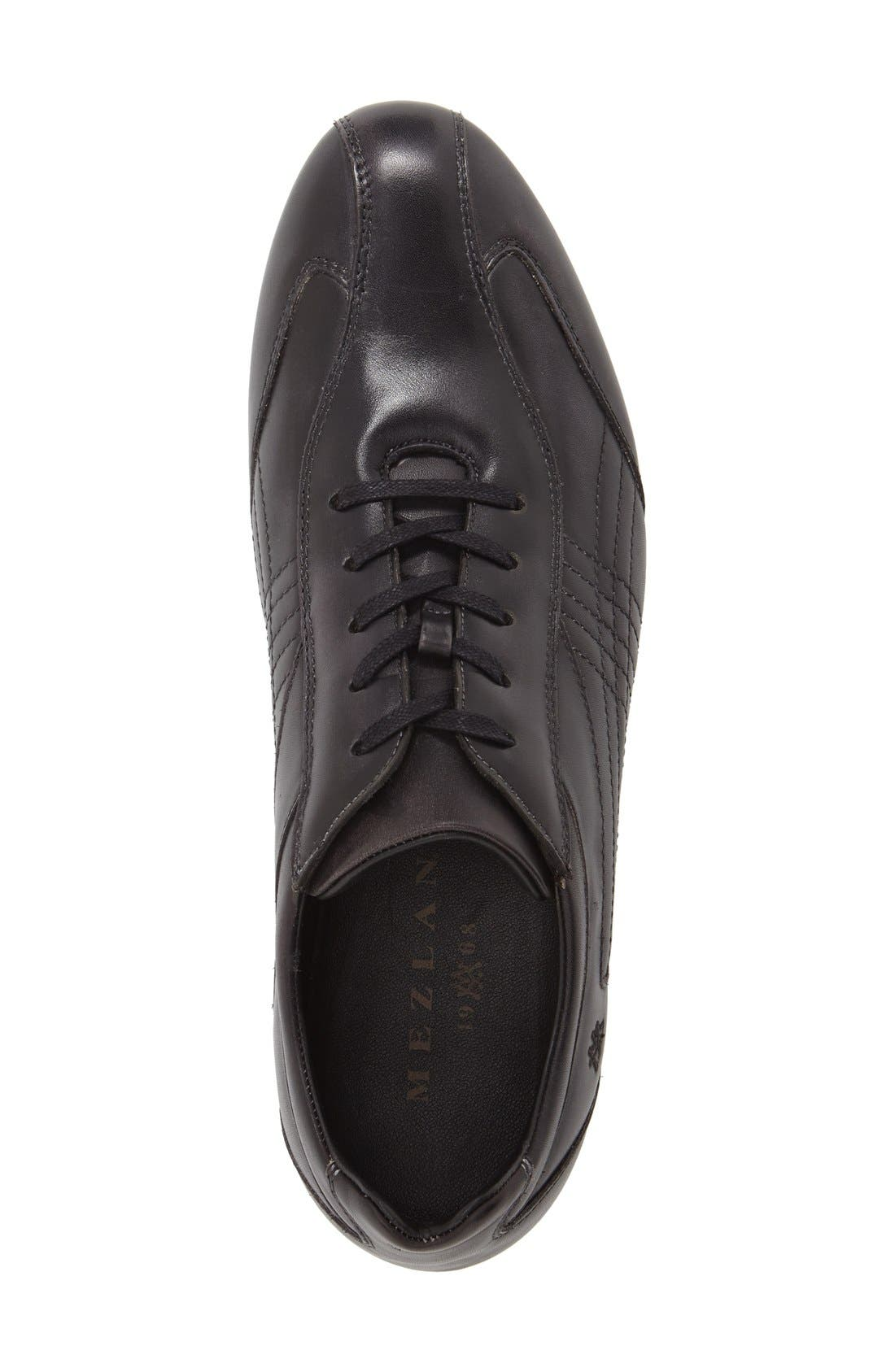 'Castelar' Lace-Up Sneaker,                             Alternate thumbnail 3, color,                             Graphite