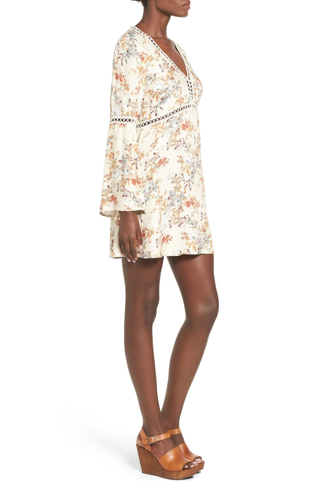 Alternate Image 3  - WAYF 'Pembrook' Bell Sleeve Babydoll Dress