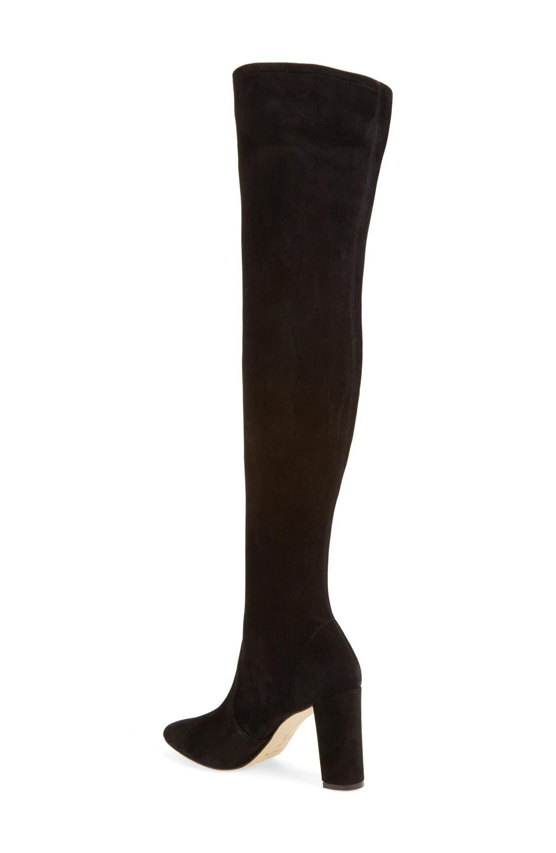 Alternate Image 2  - Manolo Blahnik 'Pascalla' Over the Knee Boot (Women)