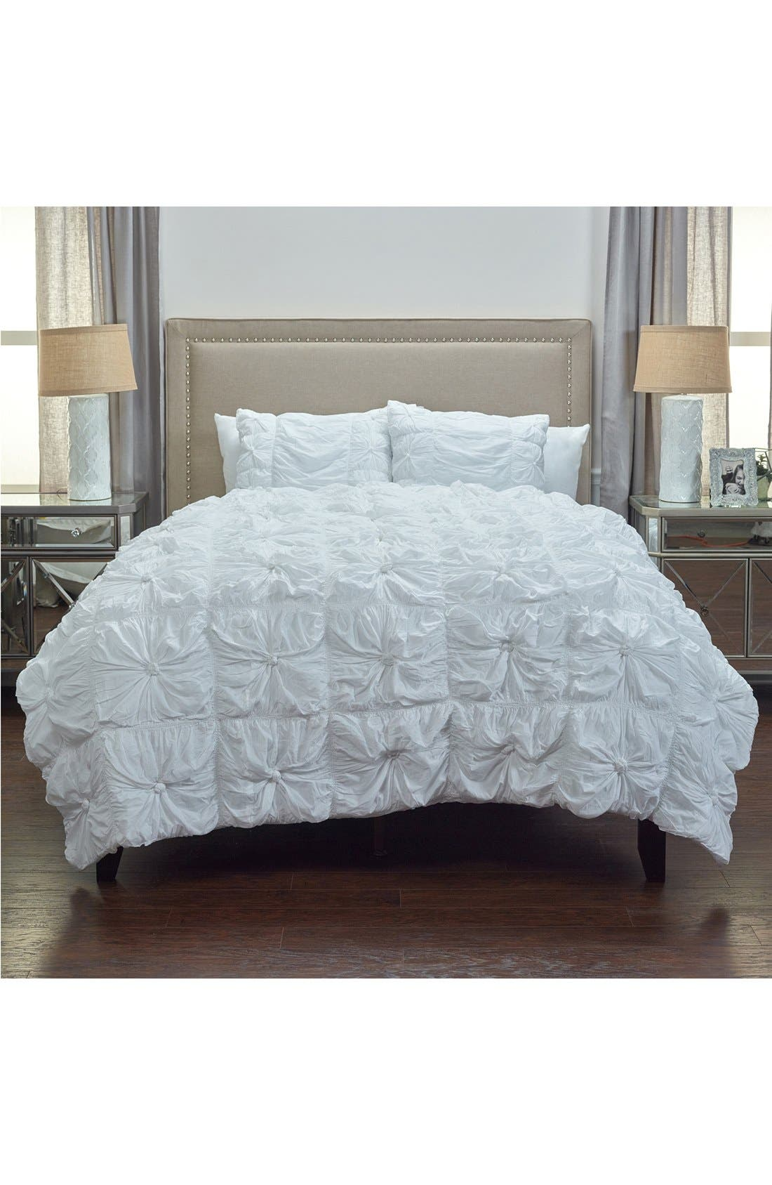 Alternate Image 1 Selected - Rizzy Home Knots Comforter & Sham Set