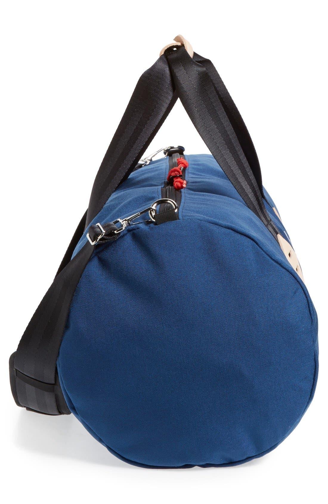 Classic Duffel Bag,                             Alternate thumbnail 5, color,                             Navy