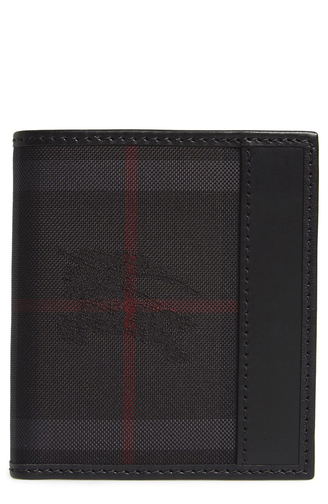 BURBERRY Rowan Check Nylon Wallet