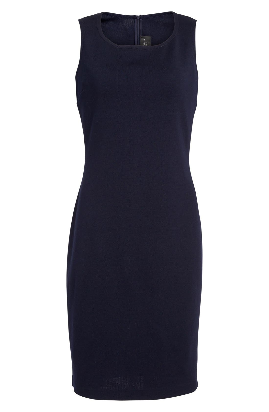 Alternate Image 4  - St. John Collection Milano Knit Sheath Dress