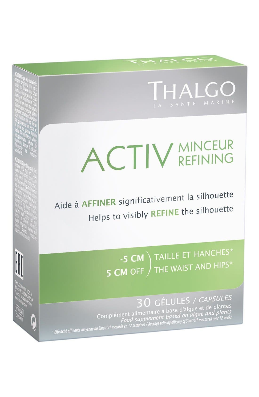 'ACTIV' Refining Food Supplement Capsules,                         Main,                         color, No Color