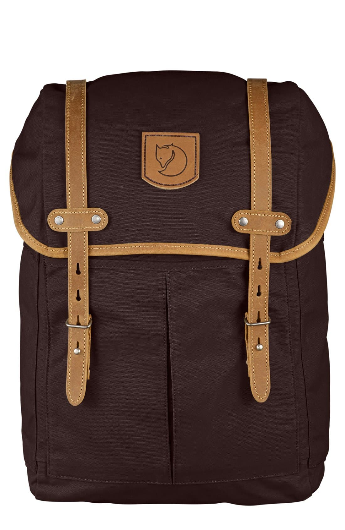 'No. 21' Rucksack,                         Main,                         color, Hickory Brown
