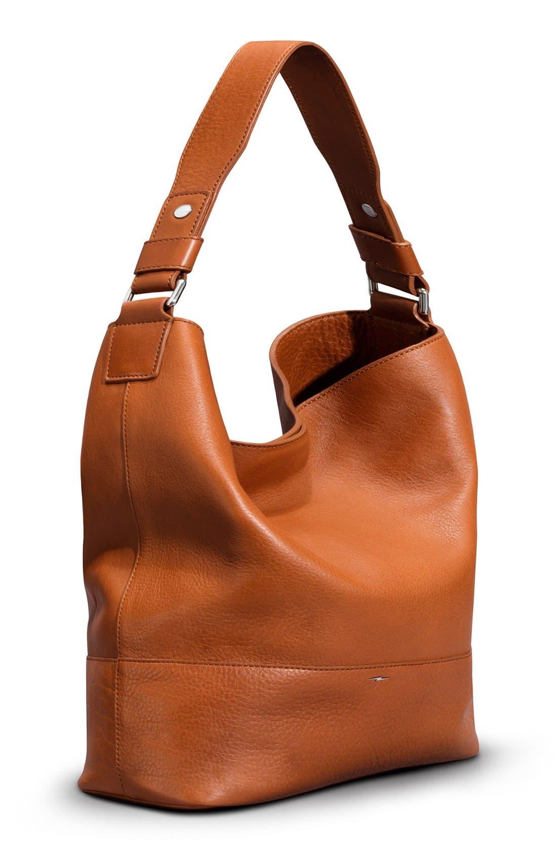 Alternate Image 4  - Shinola Relaxed Leather Hobo Bag