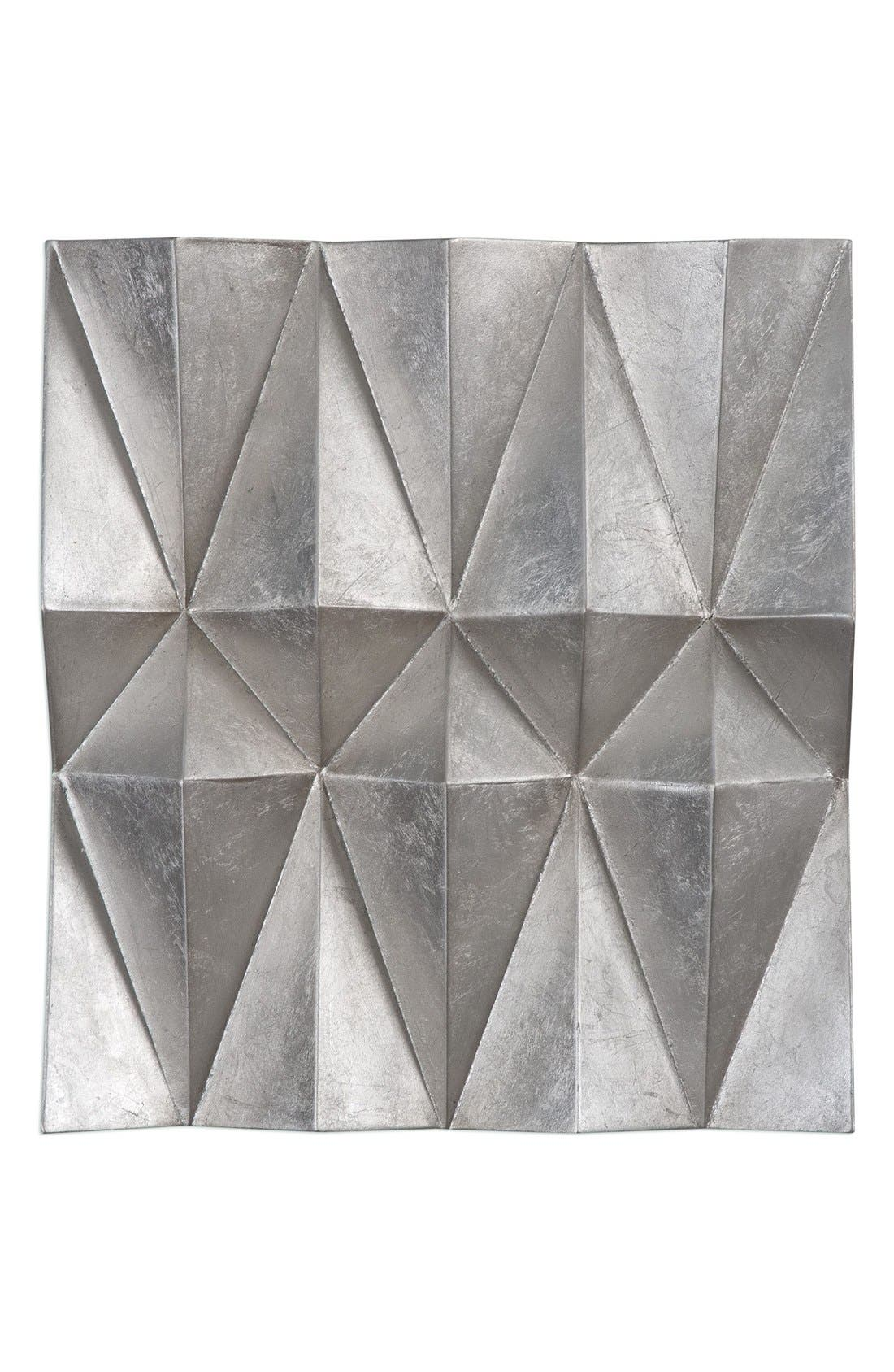 Alternate Image 1 Selected - Uttermost Faceted Wall Art (Set of 3)