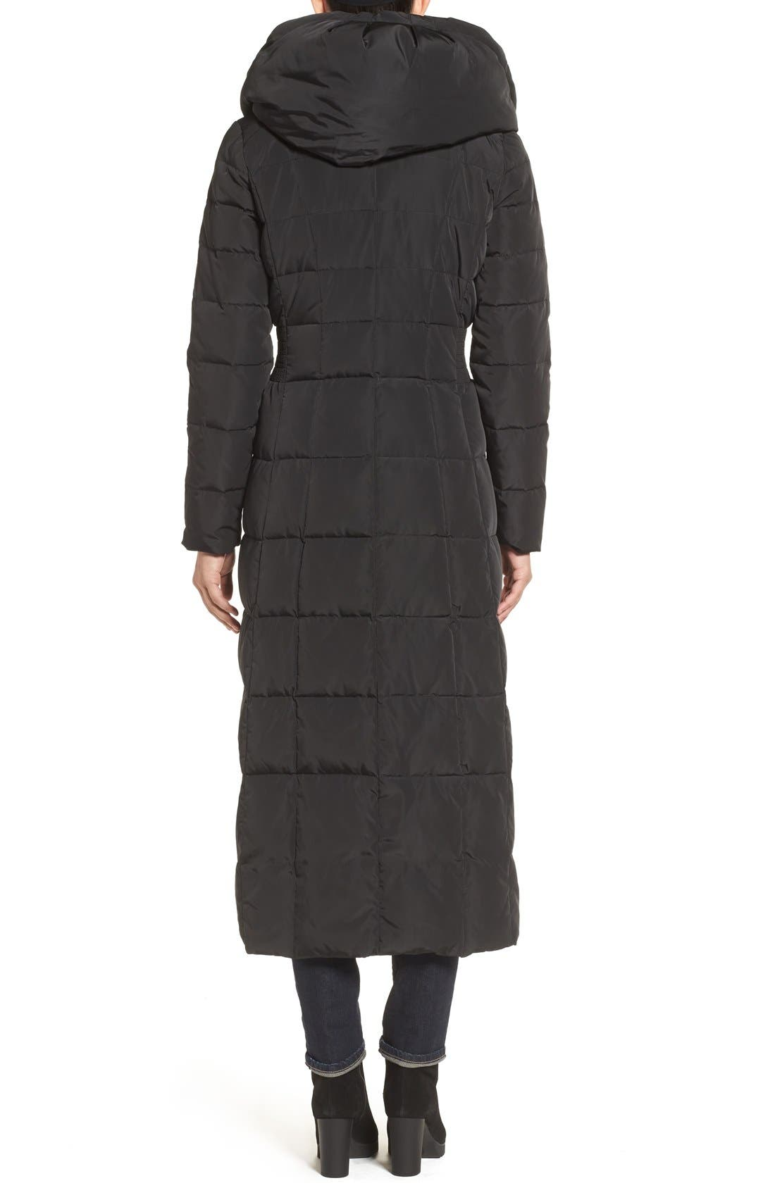 Alternate Image 2  - Cole Haan Quilted Coat with Inner Bib