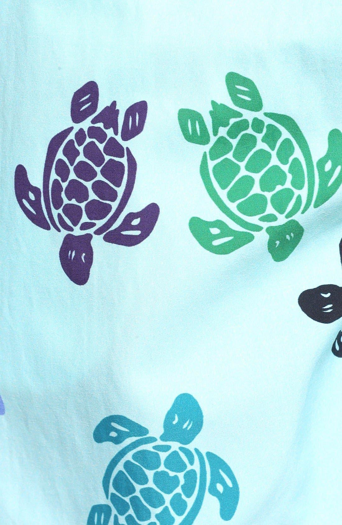 Alternate Image 5  - Vilebrequin Turtle Dance Print Swim Trunks
