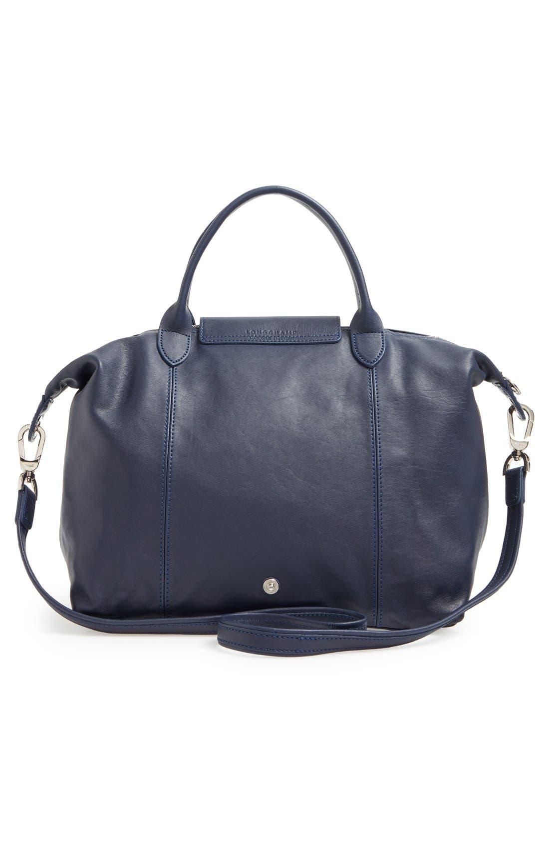 Alternate Image 3  - Longchamp 'Le Pliage Cuir' Leather Handbag