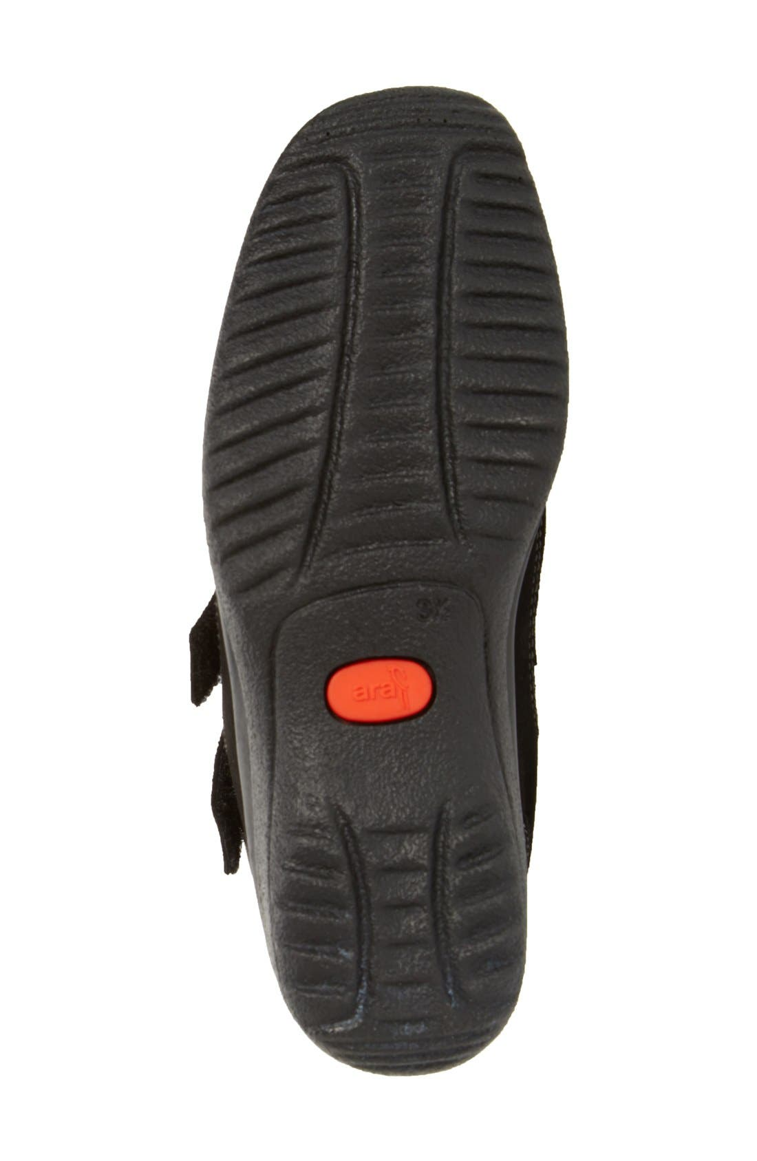 'Maemi' Waterproof Gore-Tex<sup>®</sup> Bootie,                             Alternate thumbnail 4, color,                             Black Suede