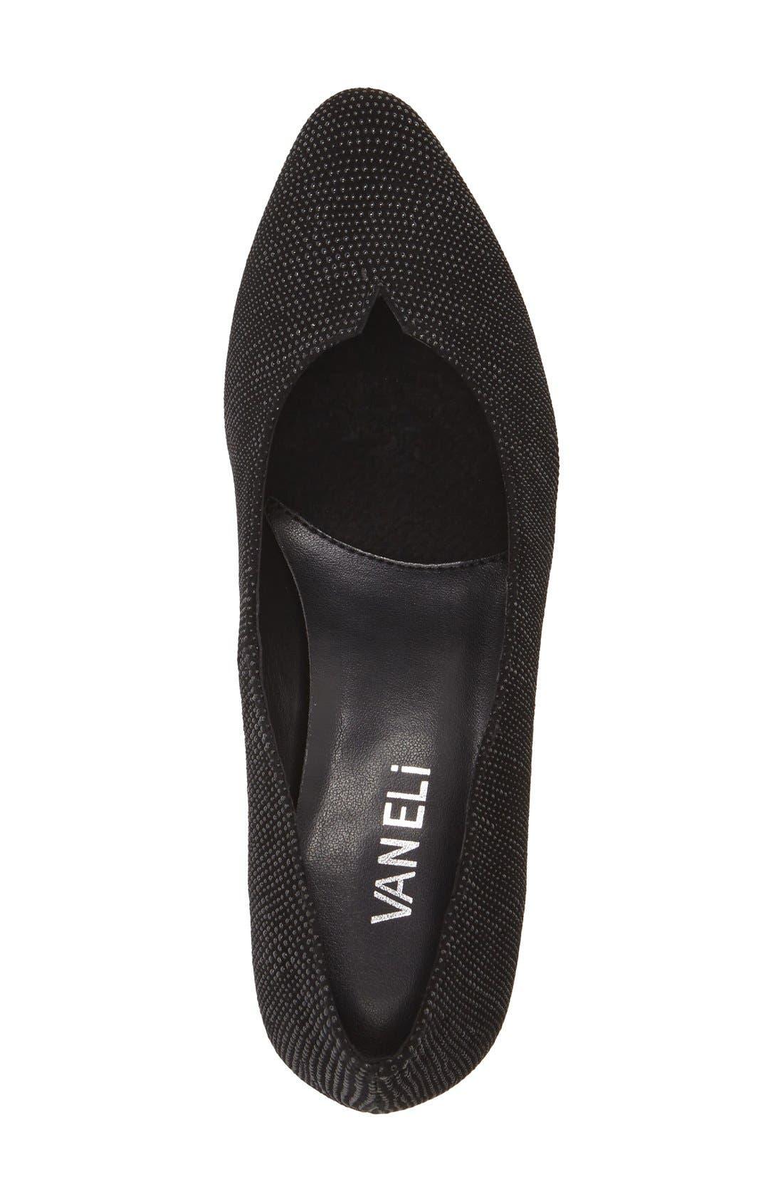 Alternate Image 3  - VANELi 'Linden' Almond Toe Pump (Women)